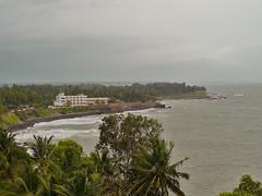 Baby Beach Vista (SivamDesign) Tags: baby lighthouse beach lumix kerala panasonic kannur cannanore fz8 dmcfz8
