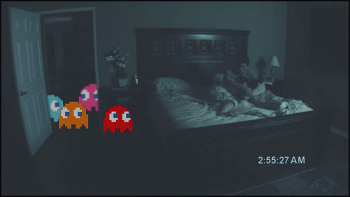 Paranormal Activity versión Pac-Man