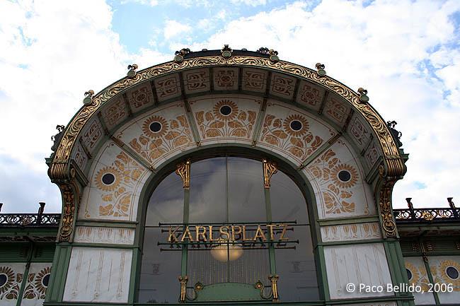 Art Nouveau en Viena. © Paco Bellido, 2006