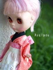kimono + apron