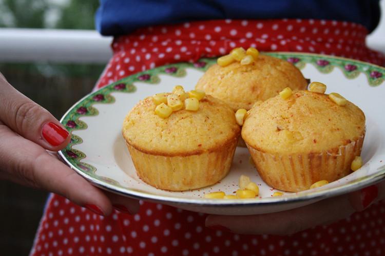 Polenta-Mais-Muffins