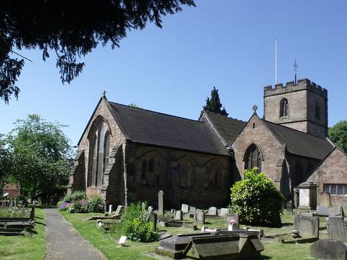 Church of St Laurence, Northfield - church yard