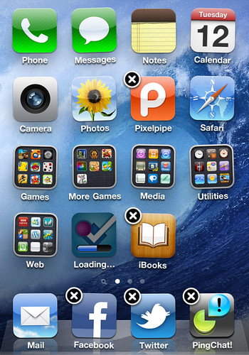 iPhone 4 - Edit Home Screen