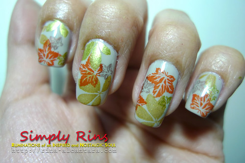 Nail Art Autumn 06