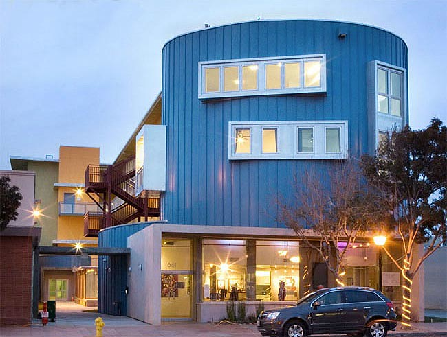 Arbor Lofts in Lancaster, California by PSL Architects (Courtesy AIA)