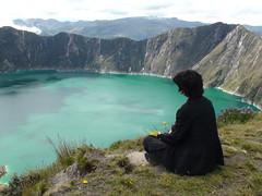 Laguna Quilotoa (Scott Holcomb) Tags: volcano ecuador andes craterlake cotopaxi lagunaquilotoa vftw sonyhdrsr12carlzeiss