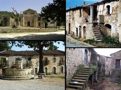 """pueblos """"fantasmas"""": Roscigno Vecchia"""