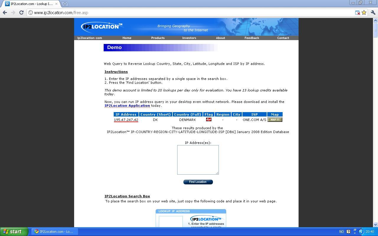 one com danmark