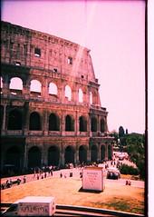Roma (mariannadivaga) Tags: italy rome roma xpro procesocruzado italia crossprocess coliseo coliseum e6c41 coliseoromano colosseoum