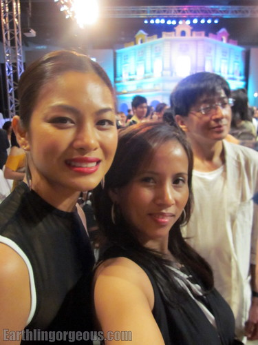 with Miriam Quiambao