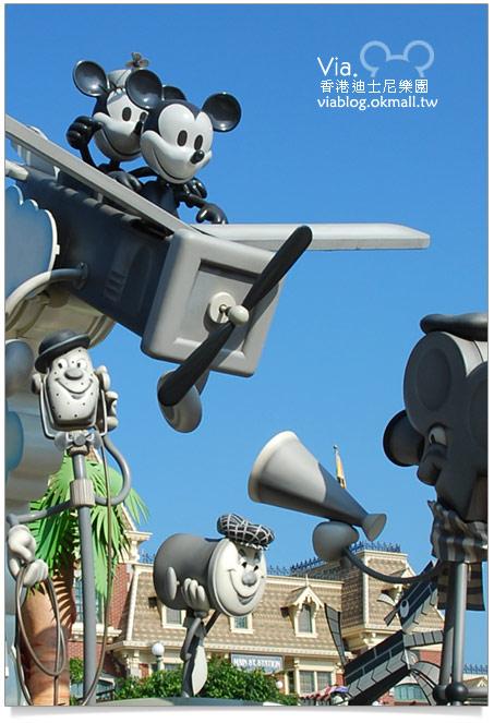 【香港迪士尼】跟著via玩香港(3)~迪士尼卡通人物歡樂巡遊15