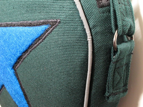 Star and strap detail
