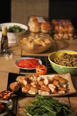 First Evening Feast - Big House