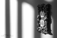 64/365 Plug (Velzqz_Jeca) Tags: light blackandwhite window wall nikon shadows plug 105mm odt d700 whatcatchesyoureye