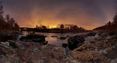 Potarch frost re-mixed (PC126559) (Mel Stephens) Tags: uk bridge panorama water landscape geotagged ir scotland aberdeenshire panoramic structure infrared gps scape stitched hdr 2010 deeside ptgui cixpix aberdonia potarch