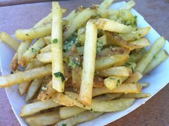 Garlic Fries - Joe's Farm Grill