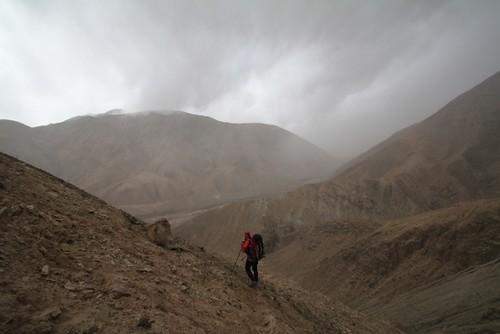 Klattrade uppfor berget 37 ganger