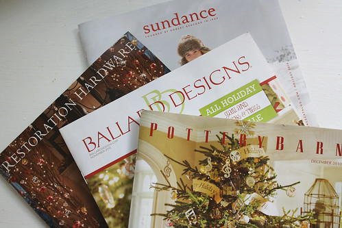 christmas catalogs
