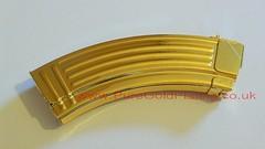 Gold Plated AK-47 Magazine (PureGoldPlating) Tags: goldplating goldplatedgun goldplatedak47