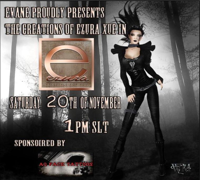 "Evane Models presents ""Ezura and  AQ face Tattoos"" Show"