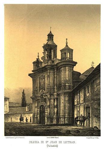034-Iglesia de S. Juan de Letrán (Valladolid) (1861) - Parcerisa, F. J-Biblioteca digital de Castilla y León  .