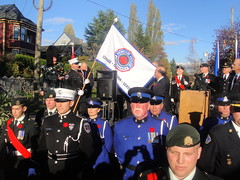 At the Opening of the Honour House for first responders and recovering Canadian Forces personnel in New Westminster