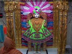 Ghanshyam Maharaj Rajbhog Darshan on Sun 02 Jul 2017 (bhujmandir) Tags: ghanshyam maharaj swaminarayan dev hari bhagvan bhagwan bhuj mandir temple daily darshan swami narayan rajbhog