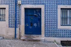 Blue door (alxfink) Tags: lisbon alfama door blue lumix detail object tile