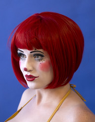Maggie McMuffin (Pete Foley) Tags: maggiemcmuffin burlesquehalloffame lasvegas nevada clown portrait flickrsbest littlestories picswithsoul overtheexcellence