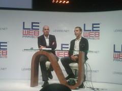 Fabrice grinda @leweb american product 100% parfaitement bilingue