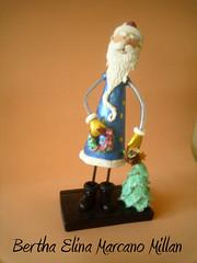 Espiritud de la Navidad1 (Bertha Elina Marcano) Tags: en navidad pasta masa francesa flexible fria porcelana porcelanicron felxible