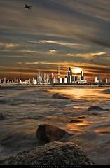 (Talal Al-Mtn) Tags: sea love weather stone eos rebel see kuwait beatiful kuwaitcity xsi q8 kwt  ilovekuwait  kuwaithistory  inkuwait     cameracanon450d talalalmtn bytalalalmtn photographybytalalalmtn