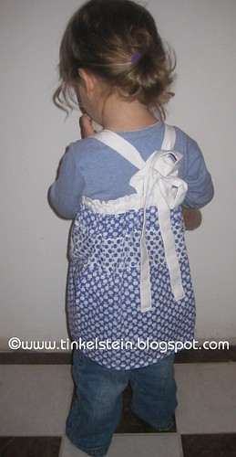 Pillow case to apple dress