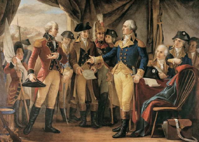 Constantino Brumidi's Surrender at Yorktown