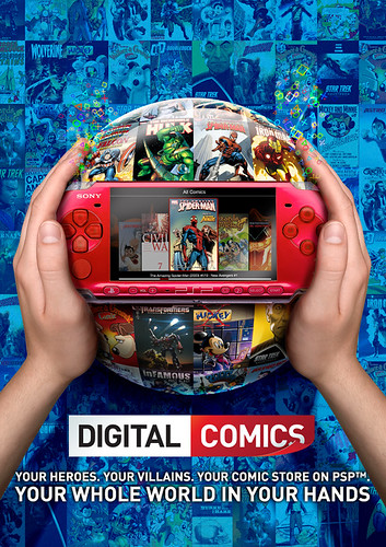 Digital Comics by PlayStation.Blog.Europe.