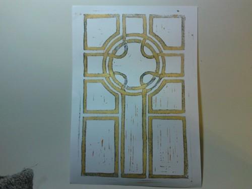 Acrylic print 1 - white