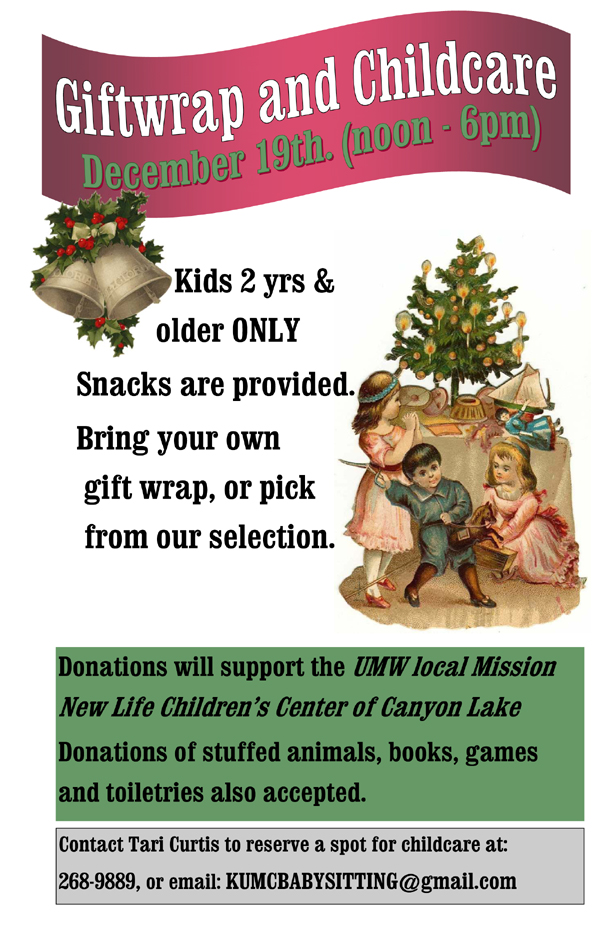 December 19 - Fundraiser in Kyle