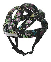4003 Casque Flower black