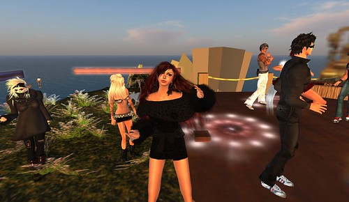 rafee at haad rin party