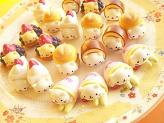 Kawaii Nyan Nyan Nyanko Small Sweets Deco Cabochon Japan (Kawaii Japan) Tags: cabo cabochon deco decor craft crafting nyannyannyanko nyanko cat animals character sanx sweets cake t