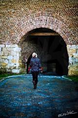 reconstructed parts... (Oliver ivkovi) Tags: old girl canon dark oliver belgrade tunel fortress beograd ivana kalemegdan zivkovic forgo 400d