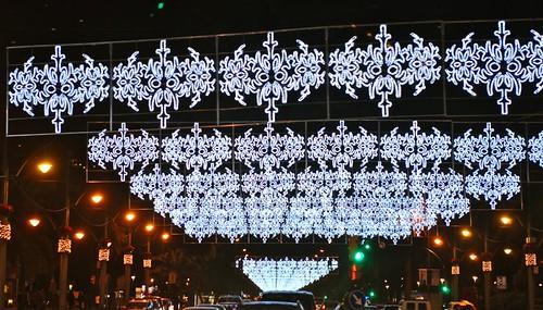 Iluminación Navideña de Málaga 2009