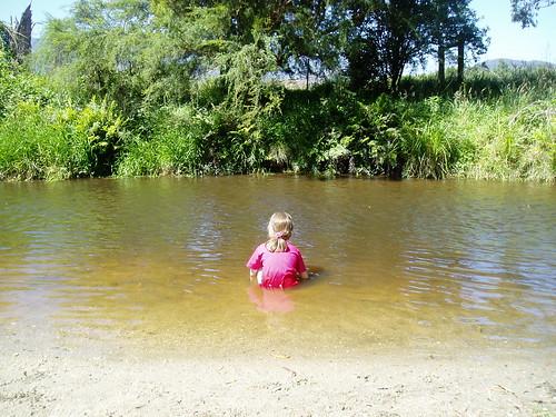 River dip