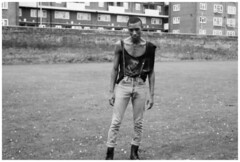 street boy ed (Vasilisa Forbes) Tags: park london fashion skins punk estate boots style retro trends shoreditch tshirts eighties ghetto skinhead docmartens subculture