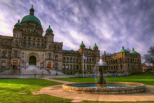 B.C Legislature in HDR