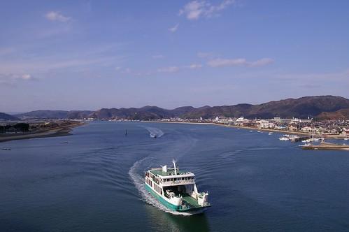 神島大橋からの眺め