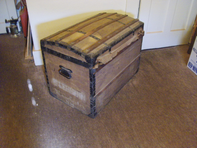 Curved Top Steamer Trunk
