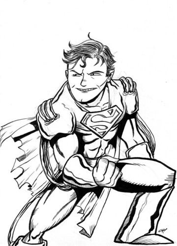 Superboy Prime commission