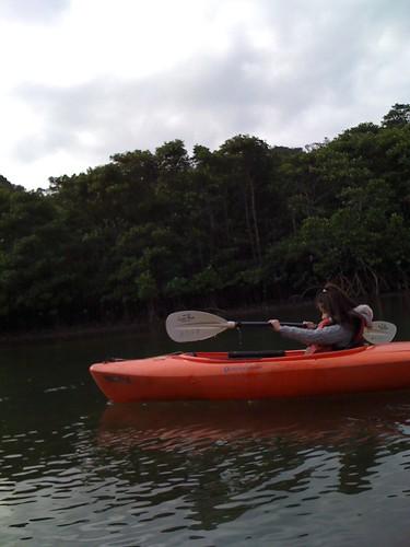 ピナイサーラの滝(滝つぼ)と サンガラの滝へのカヌーツアー