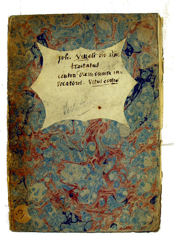 Front cover of binding from Vivetus, Johannes: Contra daemonum invocatores